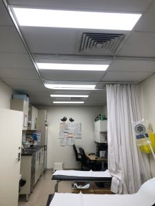 Medical Center Lighting Upgrade in Erskin Park 9